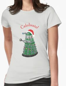 Dalek - Celebrate! Womens Fitted T-Shirt