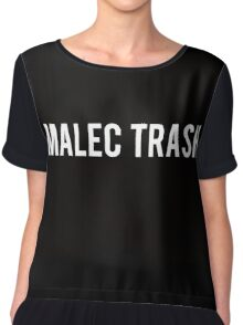 Malec Trash Chiffon Top