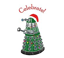 Dalek - Celebrate! Photographic Print