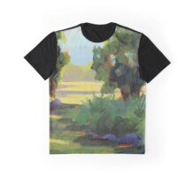 Blueberry Patch - Daily Painting Graphic T-Shirt