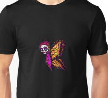 Calavera Butterfly Day of the Dead Unisex T-Shirt