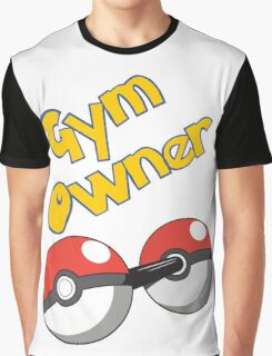 Pokemon Gym Owner Graphic T-Shirt