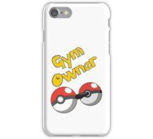 Pokemon Gym Owner iPhone Case/Skin