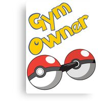 Pokemon Gym Owner Canvas Print