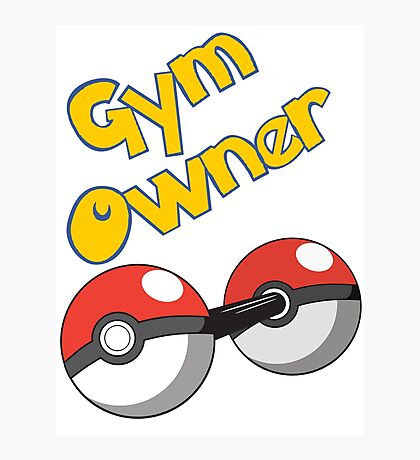 Pokemon Gym Owner Photographic Print