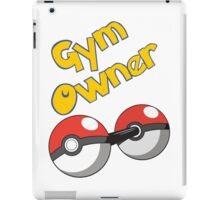 Pokemon Gym Owner iPad Case/Skin
