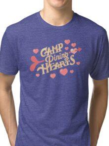 Steven universe - Camp Pinning hearts  Tri-blend T-Shirt