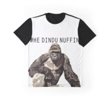 Harambe - He Dindu Nuffin Graphic T-Shirt