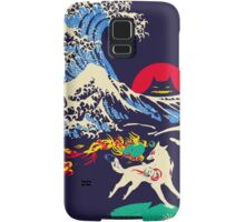 The Great Wave off Oni Island Samsung Galaxy Case/Skin