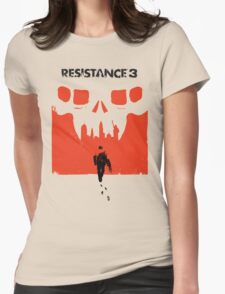 Resistance 3 Capelli Walks Womens Fitted T-Shirt