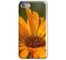 goud gele goudsbloem iPhone Case/Skin