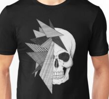 Fractalized Skull Unisex T-Shirt
