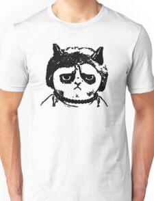Grumpy Merkel Cat Unisex T-Shirt