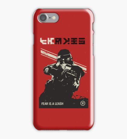 Killzone - Fear Propaganda Poster iPhone Case/Skin