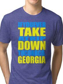 If You Ever Take a Trip... Tri-blend T-Shirt