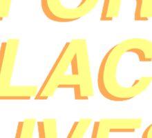 LATINX FOR BLACK LIVES MATTER Sticker