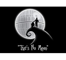 That's No Moon Photographic Print