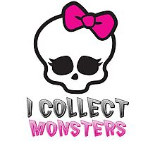 Monster Collector - Monster High Doll Shirt Photographic Print