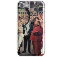 Bride Clothed by Two Bachelor's after Being Stripped Bare. iPhone Case/Skin