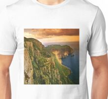 Cape Raoul at sunset Unisex T-Shirt