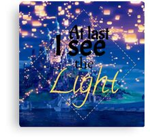 Tangled - I See The Light Canvas Print