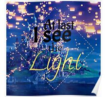 Tangled - I See The Light Poster