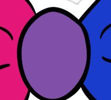 Bi Pride Bowtie Sticker