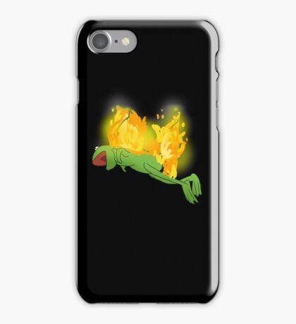 he yells iPhone Case/Skin