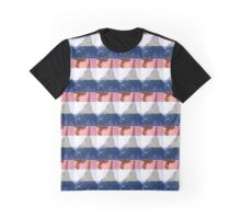 French flag Eiffel tower Graphic T-Shirt