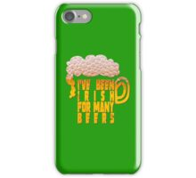 Irish for many beers iPhone Case/Skin