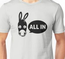 Poker - all in Unisex T-Shirt