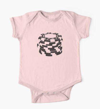 Poker Chips One Piece - Short Sleeve