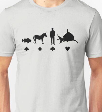 Evolution Poker Unisex T-Shirt