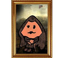 MR MEN MONA LISA Photographic Print
