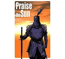 Praise The Sun Block Photographic Print