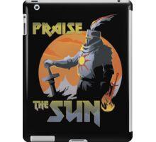 Praise The Sun Black iPad Case/Skin