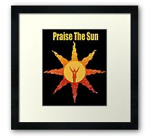 Praise The Sun San Framed Print