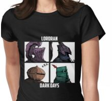 Dark Lordran Days Womens Fitted T-Shirt