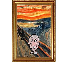 MR. MEN SCREAM Photographic Print