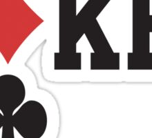 Poker Sticker