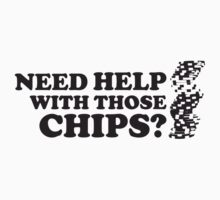 Poker: Need help with those chips? Baby Tee
