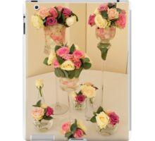 Wedding day floral elegance iPad Case/Skin