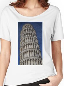 The Leaning Tower Of Pisa Women's Relaxed Fit T-Shirt