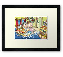 Adventure Bedtime Framed Print