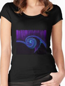 Shell whirl Women's Fitted Scoop T-Shirt