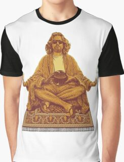 The Dude Abides in Nirvana Graphic T-Shirt