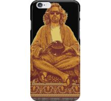 The Dude Abides in Nirvana iPhone Case/Skin