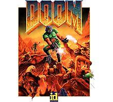 Doom Poster Art 1993 PC Photographic Print