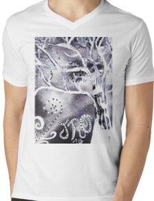 """Snowy Thoughts"" by Jessie R Ojeda Mens V-Neck T-Shirt"
