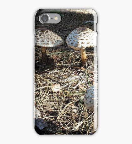 Natural Mushrooms iPhone Case/Skin